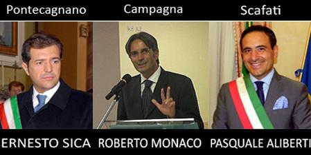 Sica-Monaco-Aliberti-Ballottaggi-foto-Salerno-notizie.