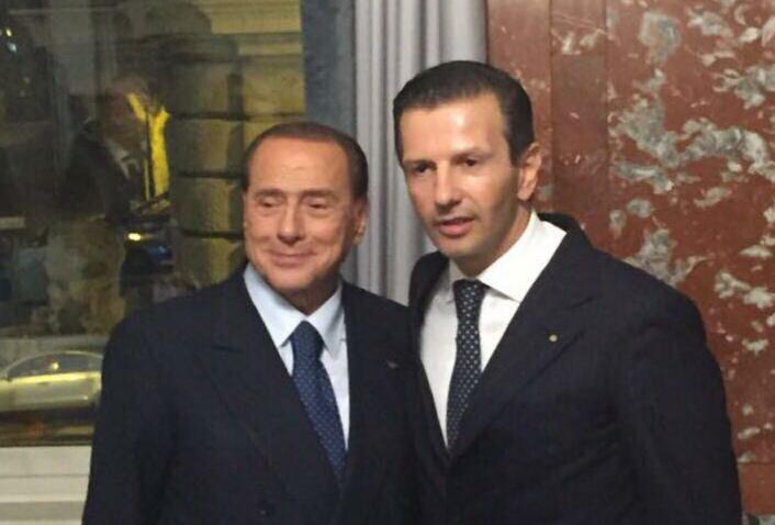 Silvio Berlusconi-Antonio Lombardi