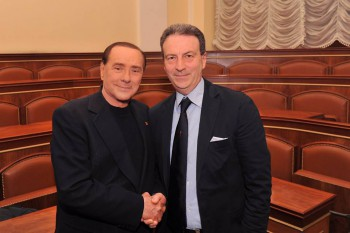Silvio Berlusconi-Franco Cardiello