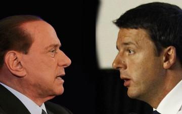 Silvio-Berlusconi-Matteo-Renzi.