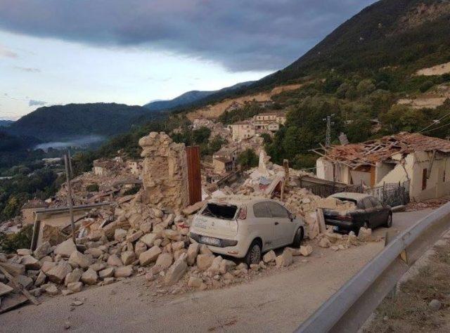Terremoto Lazio 2016- Pescara del Tronto-2