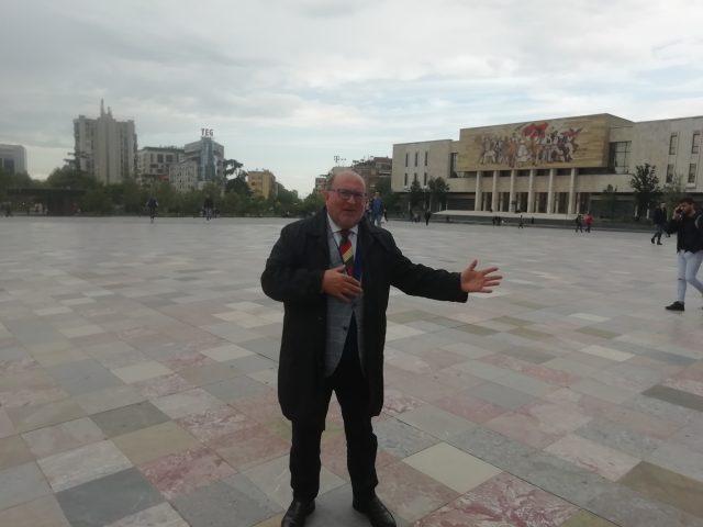 Tirana Piazza Schandeberg Massimo Del Mese.