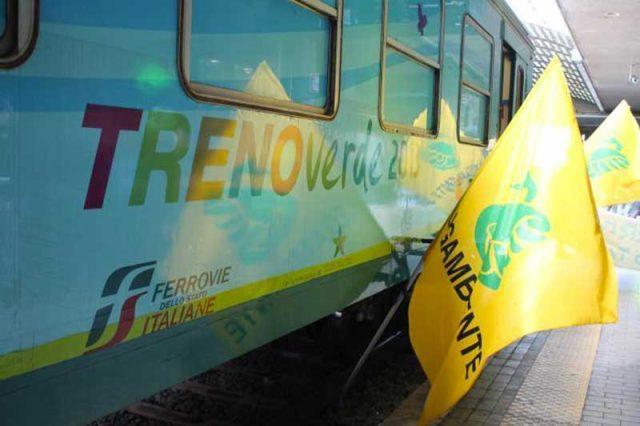 Treno Verde 2016 di Legambiente