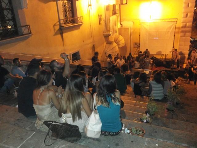 Trinità dei monti-movida ebolitana-serata Universal Bar.