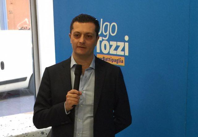 Ugo Tozzi-Inaugurazione sede elettorale-Battipaglia