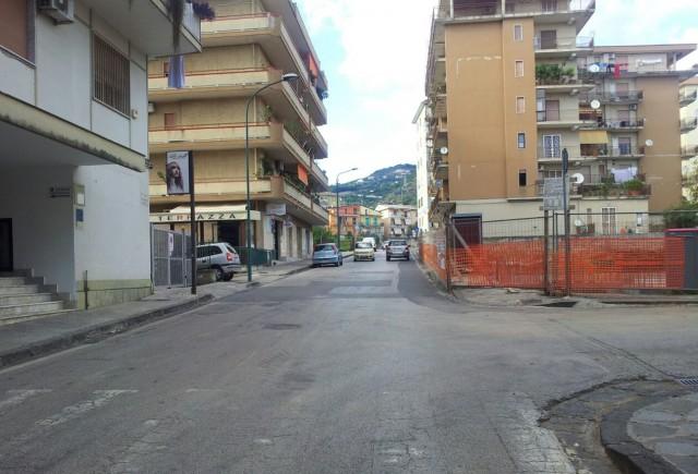 Via Gen Gonzaga-Area Cantiere