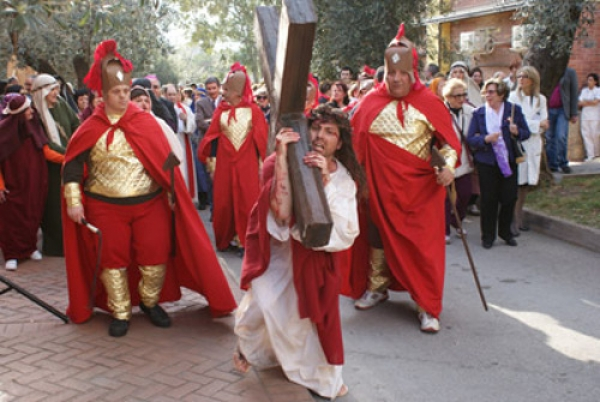 Via Crucis-Elaion-Vincenzo Bocciarelli interpreta Gesù Cristo