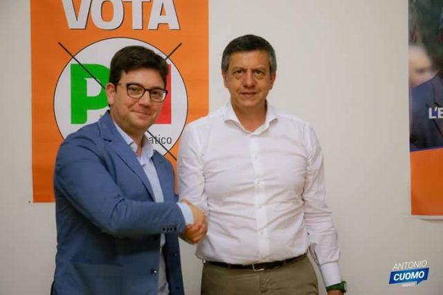 Vincenzo Caputo-Antonio Cuomo-Conferenza stampa