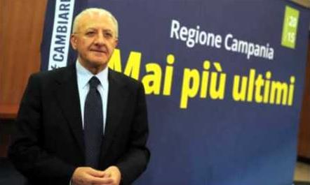 Vincenzo De Luca-Centrosinistra