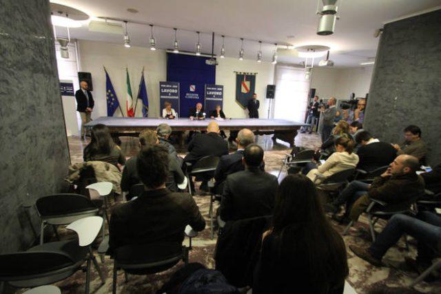 Vincenzo De Luca-Conferenza Stampa-Fondi UE