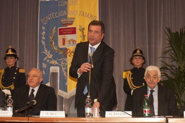 Vincenzo De Luca-Ernesto Sica-Giuseppe Tesauro-Digitalizzazione PA