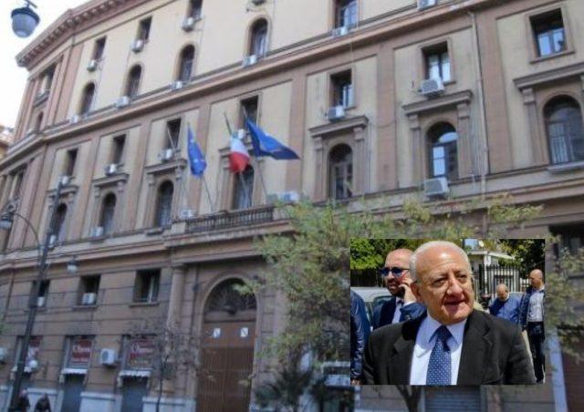 Vincenzo De Luca - Palazzo Santa Lucia
