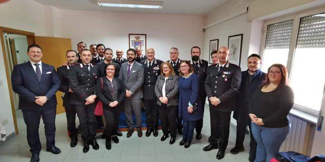 Visita del Sottosegretario Tofalo ai Carabinieri di Scafati e Torre Annunziata