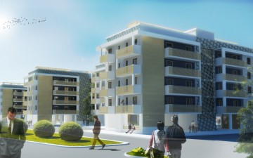 Vista Housing Sociale loc Fontanelle Render