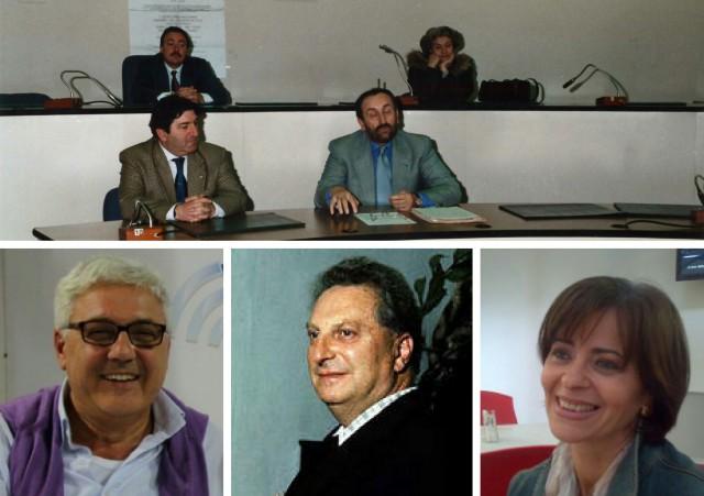 Vito Capaccio-Guglielmina Vocca-Domenico Spinelli-Antonio Morrone-Martino Melchionda-Carlo Levi-Rosaria Gaeta.