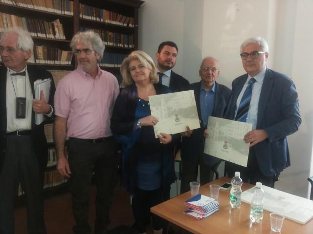 Vito-Marcello-Marina Merola-Liberato Martucciello-Dino Merola-Martino Melchionda-Intitolazione Sala Antica-Paolo Merola