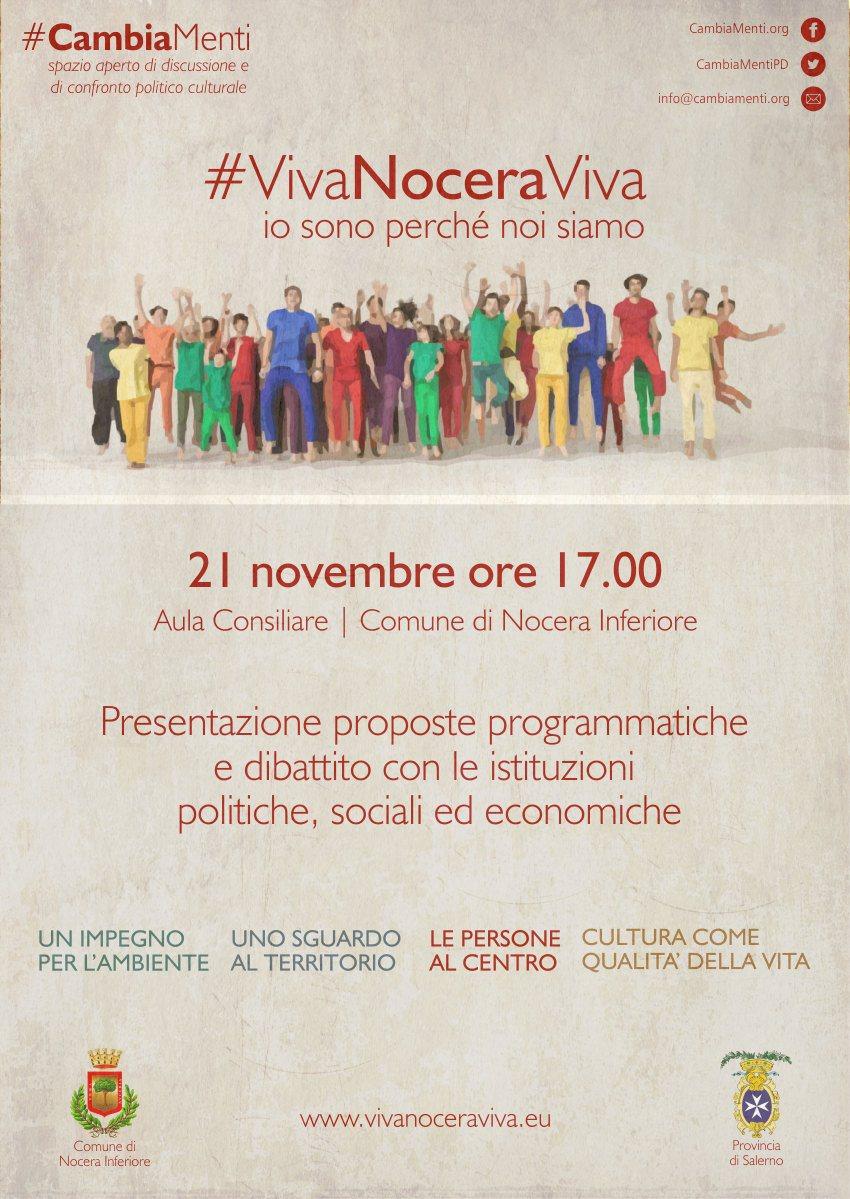 #VivaNoveraViva-MANIFESTO