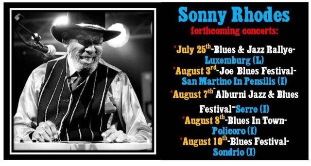 XII edizione di Alburni jazz & Blues Festival di Serre-Sonny Rodher