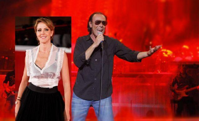 Claudia Gerini-antonello-venditti-in-concerto