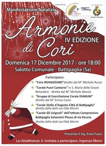 Armonie di cori-concerto di natale Battipaglia