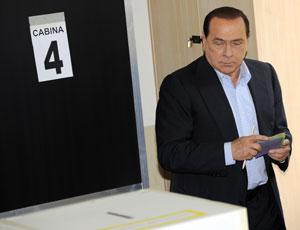 Berlusconi al voto