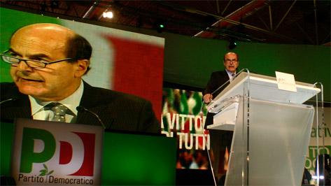 Intervento di Bersani all'Assemblea Nazionale