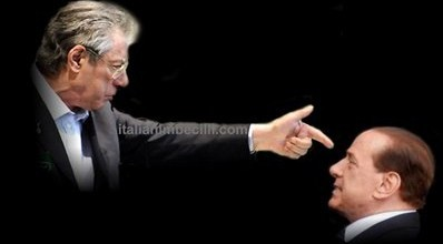 Umbero Bossi & Silvio Berlusconi