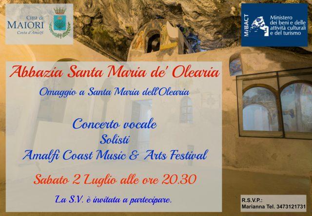 concerto 2 luglio-Maiori-S M Olearia