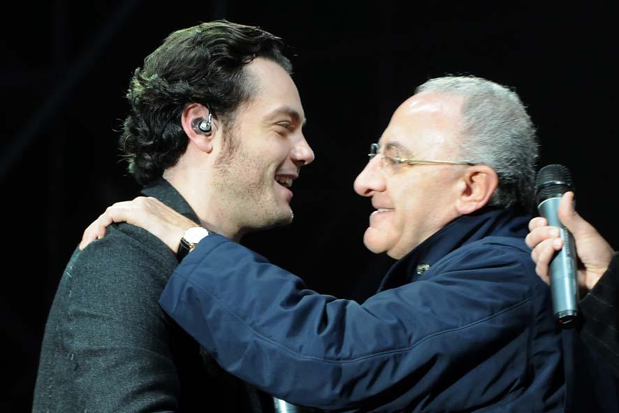 concerto fine anno-09 - Tiziano Ferro e De Luca