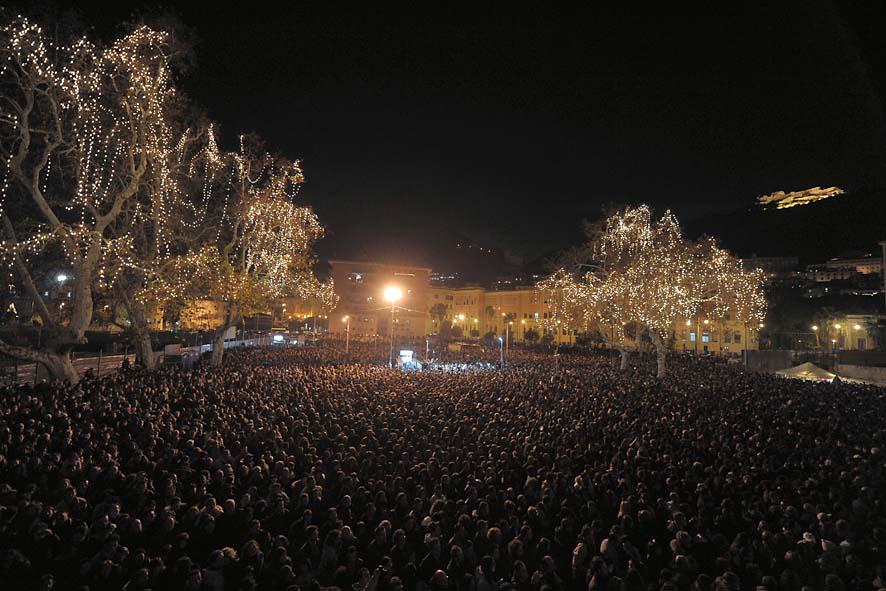 Il Pubblico di Piazza della Libertà - Concerto di fine anno