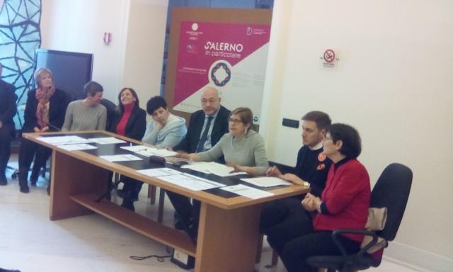 conferenza stampa GIORNATA DEL PAESAGGIO A SALERNO