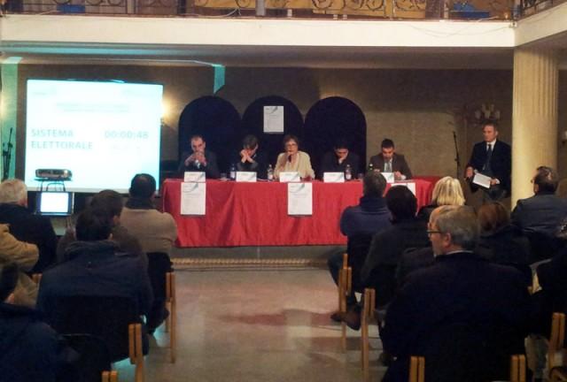 confrontocandidati_socialtennis-Campeglia-Ferrigno-Lamberti-Palumbo-Siani-
