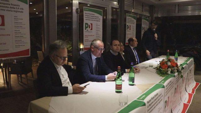 convegno pd piano strade-Cascone-Cariello-Luciano-Sica-Infante-Rizzo