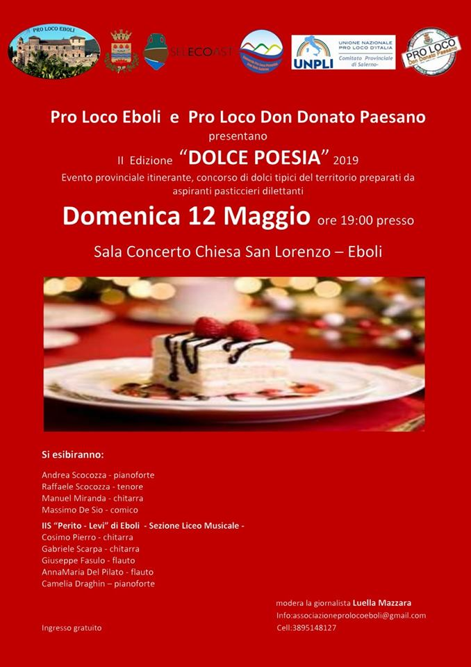 dolce poesia 2019