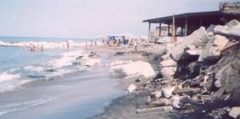 Erosione spiaggia