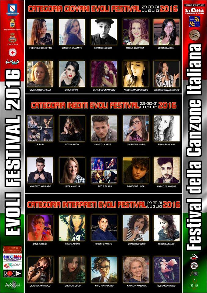 evoli festival concorrenti