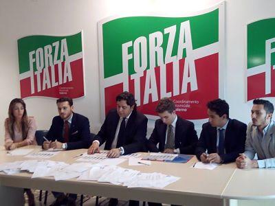 forza italia- conferenza fine anno