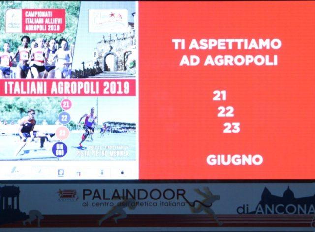 Agropoli campionato nazionale Atletica under 18