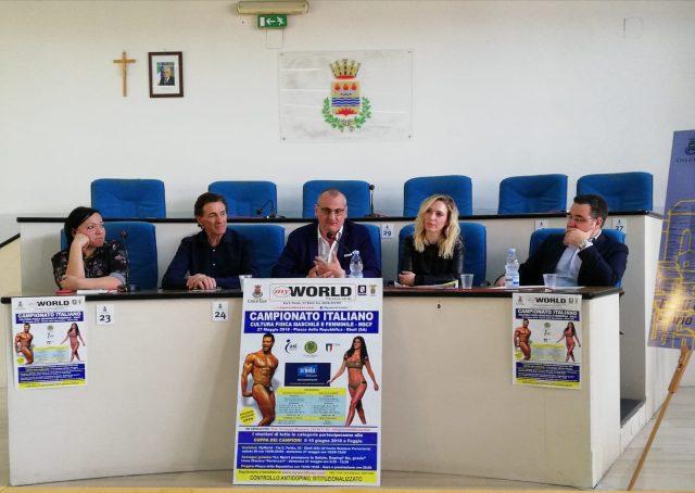 campionato nazionale cultura fisica Eboli-Maiorano-Cariello