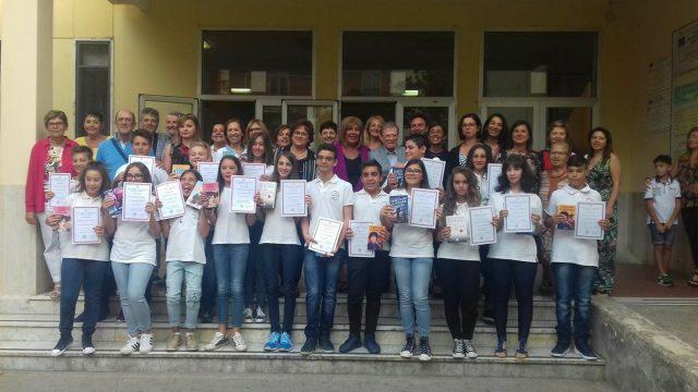 alunni-docenti-Dirigente-IC-Romano-Eboli