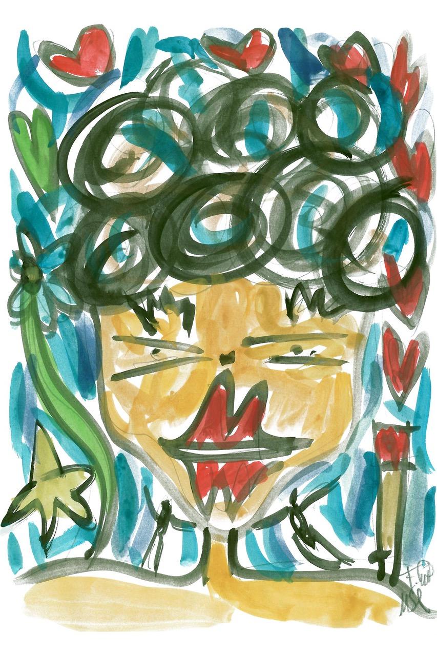 francesco-cuomo-design-da-collezione-la-serenità-opera-arte-contemporanea-acquerello 1
