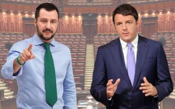 i due Matteo-Salvini-Renzi