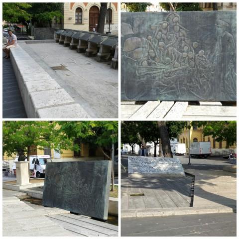 il monumento a Vincenzo Giudice