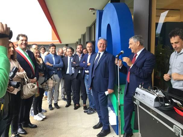 Inaugurazione sportello BCC Aquara a Pontecagnano