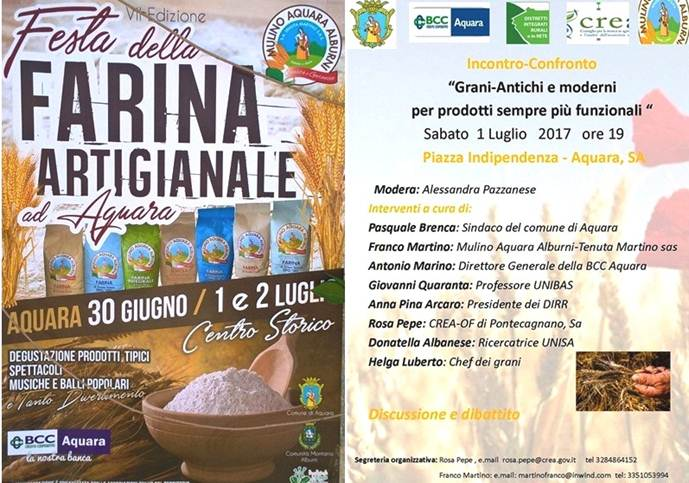 BCC Aquara-Festa della Farina e dei grani