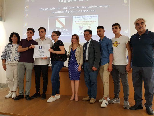 """Premio Api e Biodiversità all'IIS """"Mattei Fortunato"""" di Eboli"""