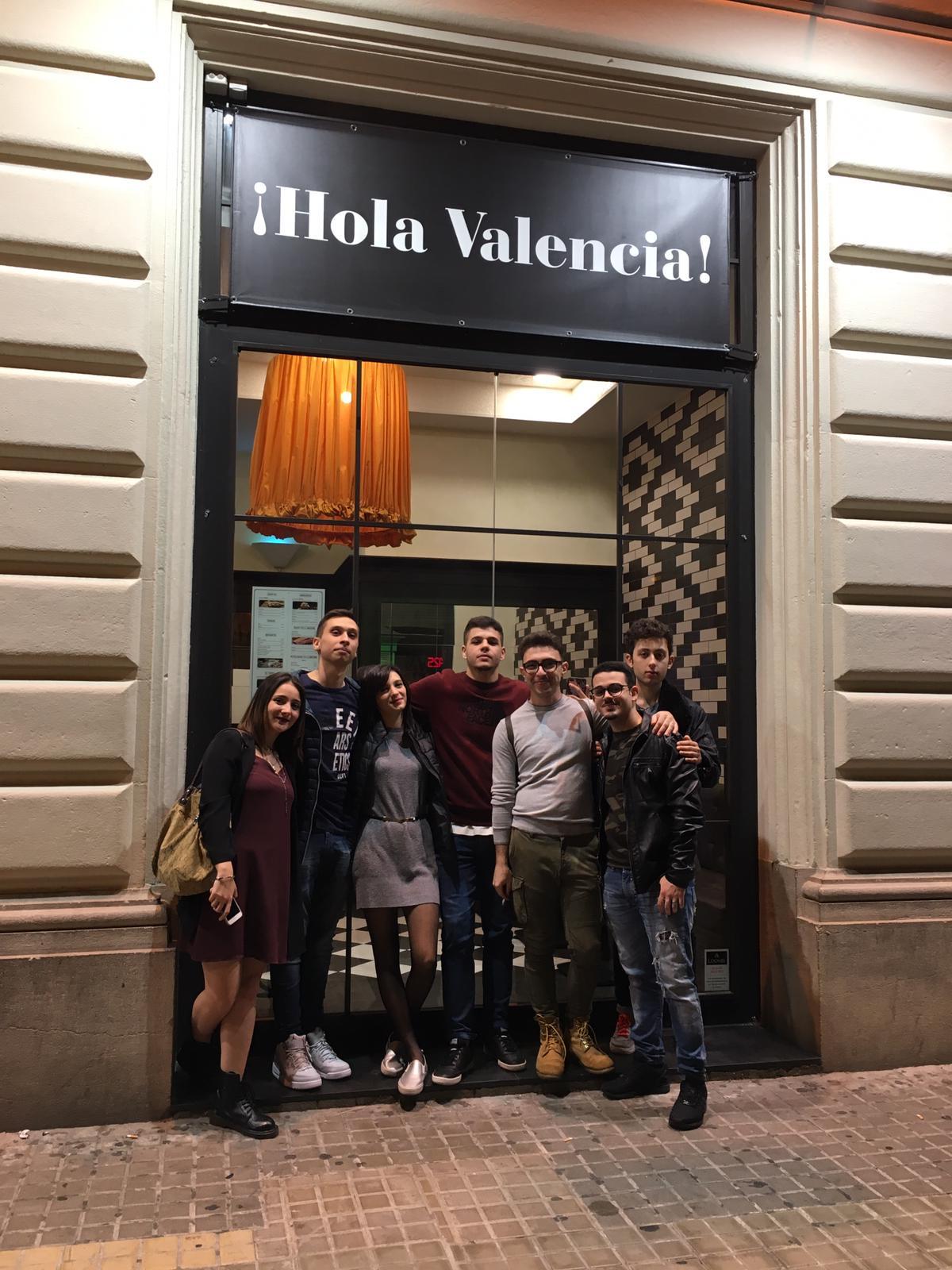 Alunni del Mattei a Valencia