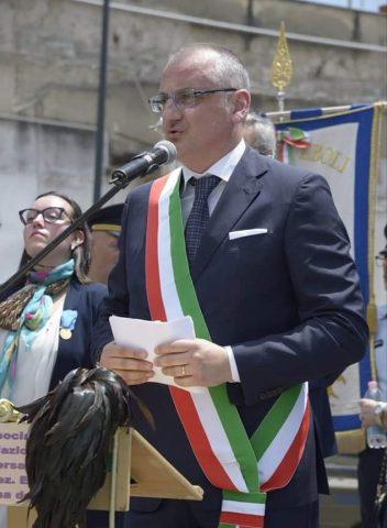 inaugurazione monumento al Bersagliere Eboli Massimo Cariello