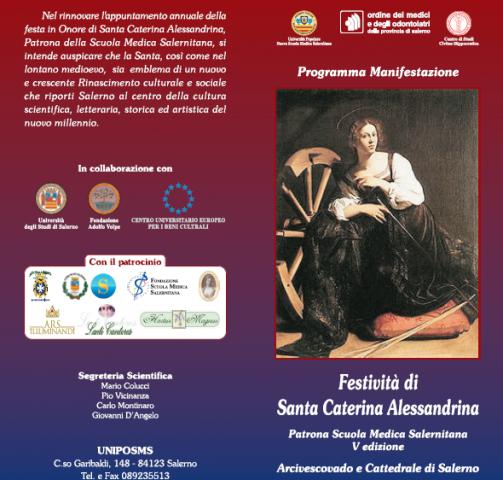 Festa S Caterina-Premio Trotula