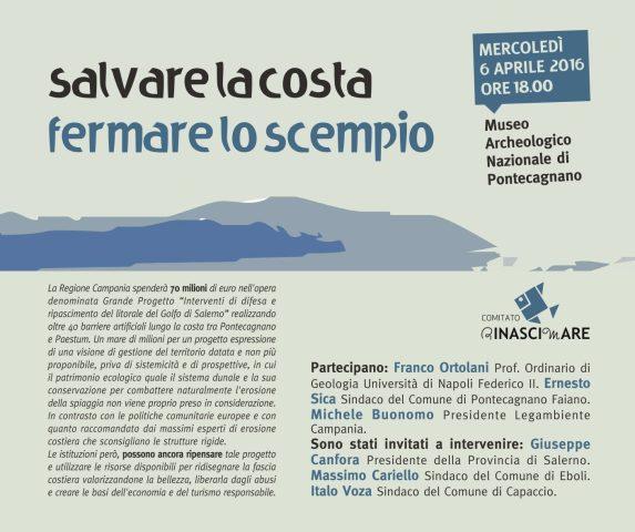 salviamo la costa-Convegno-Pontecagnano